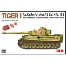 Tiger I Initial Production Early 1943 North African Front/Tunisia 1/35