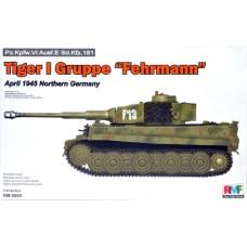 """Tiger I Gruppe """"Fehrmann"""" 1/35"""