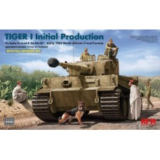 Tiger I Initial Production Early 1943 North African Front/Tunisia FULL INTERIOR 1/35