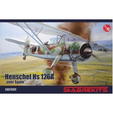 """Henschel Hs 126A """"Over Spain"""" 1/72"""