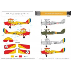SBS D48040 De Havilland DH-82A Tiger Moth 'Nordic Air Forces'1/48