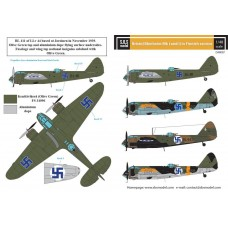 SBS D48007 Bristol Blenheim Mk. I-II. in Finnish Service WW II 1/48