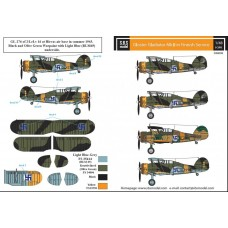 SBS D48008 Gloster Gladiator in Finnish Service WW II 1/48