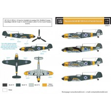 SBS D48014 Messerschmitt Bf-109G-2 in Finnish Service 1/48