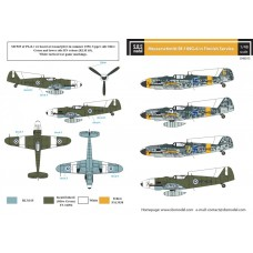SBS D48013 Messerschmitt Bf-109G-6 in Finnish Service 1/48