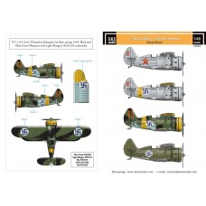 SBS D48003 Polikarpov I-153 Chaika Finnish Air Force WWII Vol.I 1/48