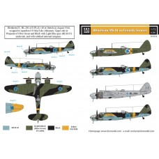 SBS D72019 Bristol Blenheim Mk. IV. in Finnish Service 1/72