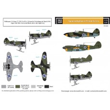 SBS D72035 Captured Fighters in Finnish Service WW II 1/72