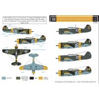 SBS D72018 Curtiss Hawk 75A in Finnish Service 1/72
