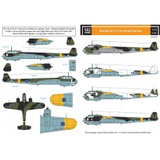 SBS D72010 Dornier Do-17Z in Finnish Service WWII 1/72
