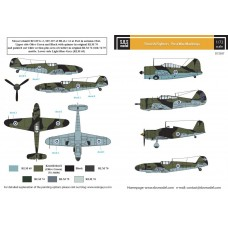 SBS D72037 Finnish Fighters - Post War Markings 1/72