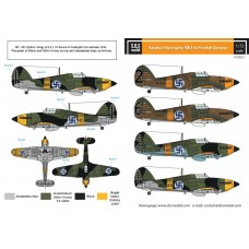 SBS D72011 Hawker Hurricane Mk. I in Finnish Service WW II 1/72