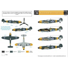 SBS D72014 Messerschmitt Bf-109G-2 in Finnish Service 1/72