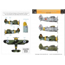 SBS D72003 Polikarpov I-153 Chaika Finnish Air Force WWII 1/72