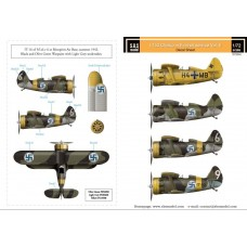 SBS D72004 Polikarpov I-153 Chaika Finnish Air Force WWII Vol II 1/72
