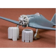 SBS 72060 Fiat G.50/bis engine & cowling set for Fly kit 1/72