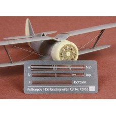 SBS 72052 Polikarpov I-153 Chaika Rigging wire set for ICM/Revell kit 1/72