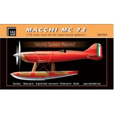 SBS 7015 Macchi MC 72 'World Speed Record' 1/72