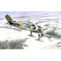 """Fokker D.XXI 4.sarja """"Wing with Slots"""" 1/72"""