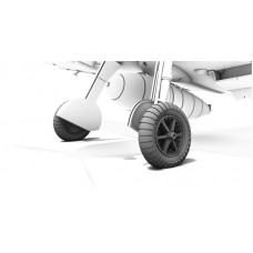 Messerschmitt Bf 109E Wheels 1/72