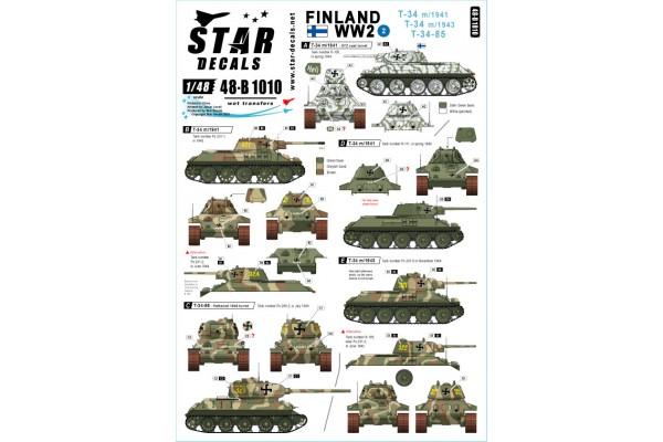 Star Decals 48-B1010 Finland WW2 #2 1/35