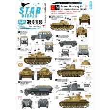 Star Decals 35-C1183 Fall Blau and Stalingrad #1 1/35