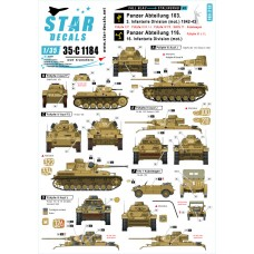 Star Decals 35-C1184 Fall Blau and Stalingrad #2 1/35