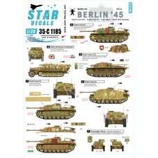 Star Decals 35-C1185 Berlin #4. Battle for Berlin 1945 1/35