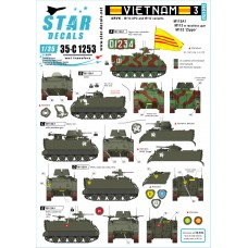 Star Decals 35-C1253 Vietnam 3 1/35