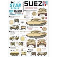 Star Decals 35-C1256 1956 Suez Crisis #1 1/35