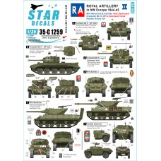 Star Decals 35-C1259 Royal Artillery #2 1/35