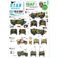 Star Decals 35-C1269 Afghani Peace keepers - ISAF #3 1/35