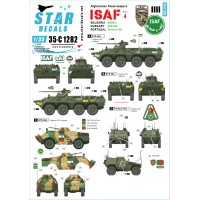 Star Decals 35-C1282 Afghani Peace keepers - ISAF #4 1/35