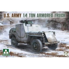 Willys Jeep U.S. Army 1/4 Ton Armored Truck 1/35