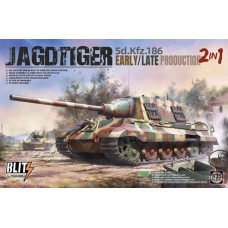 Sd.Kfz.186 Jagdtiger Early/Late Production (2 in 1) 1/35