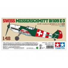 Swiss Messerschmitt Bf109 E-3 1/48