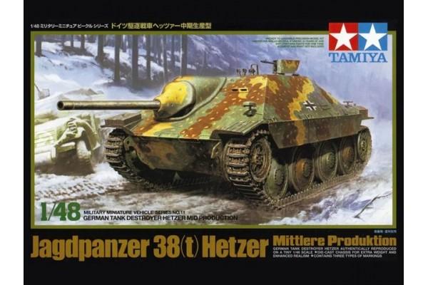 Jagdpanzer 38(t) Hetzer Mittlere Produktion 1/48