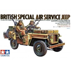 British Special Air Service Jeep 1/35