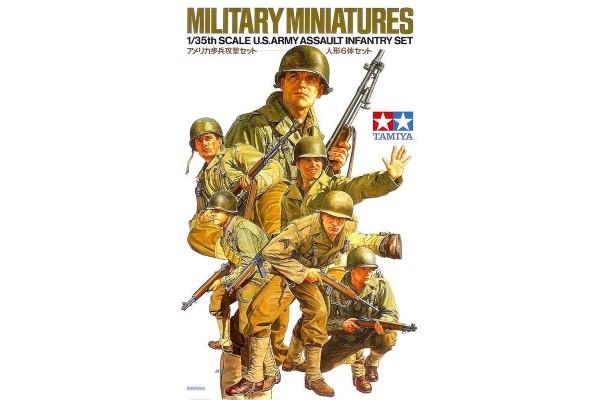 U.S. Assault Infantry Set 1/35