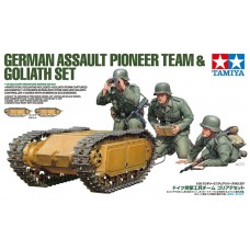 German Assault Pioneer Team & Goliath Set 1/35