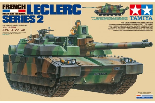 Leclerc Series 2 French Main Battle Tank 1/35