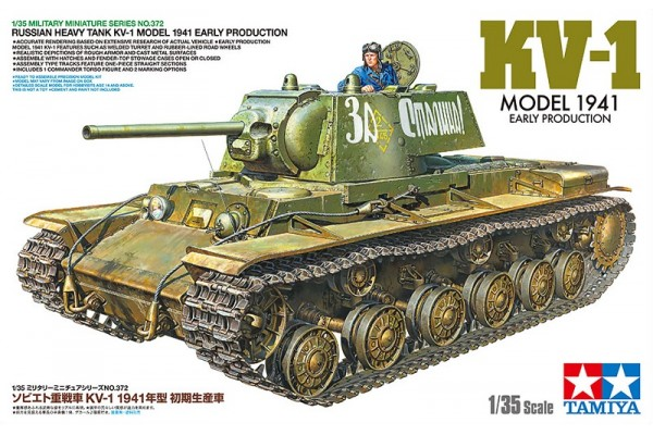 KV-1 Model 1941 Early Production 1/35