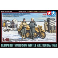 German Luftwaffe Crew (winter) w/ Kettenkraftrad 1/48
