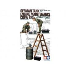 German Tank Engine Maintenance Crew Set 1/35