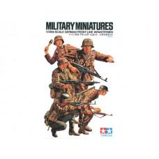 German Front-Line Infantrymen, 1/35