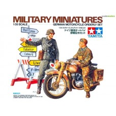 German Motorcycle Orderly Set 1/35