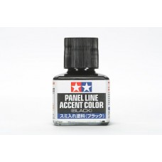 Tamiya Panel Line Accent Color - Black