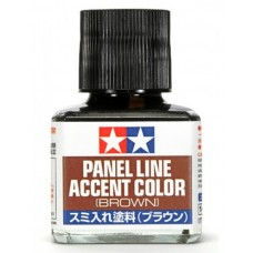 Tamiya Panel Line Accent Color - Brown