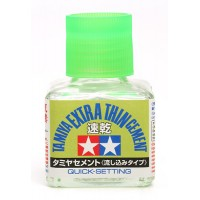 Tamiya Extra Thin Cement QUICK SETTING 40ml