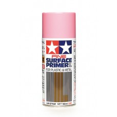 Fine Surface Primer L for Plastic & Metal Pink (180ml)